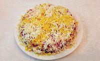 Фото к рецепту: Салат «Селёдка под шубой»