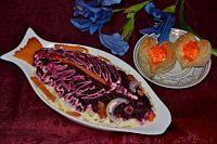 Фото к рецепту: Праздничный салат «Селедка под шубой»