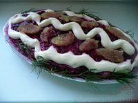 Фото к рецепту: Селедка под шубой