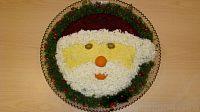 Фото к рецепту: Салат «Дед Мороз»