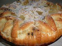 Фото к рецепту: Быстрый пирог-шарлотка с яблоками