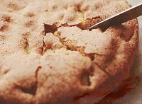 Фото к рецепту: Быстрая шарлотка