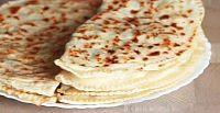 Фото к рецепту: Кутабы (лепешки без дрожжей) с картофелем и тыквой